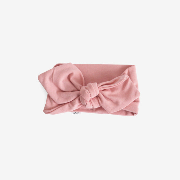 Top Knot Headband - blush