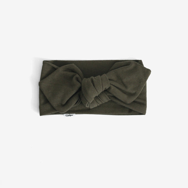 Top Knot Headband - Loden