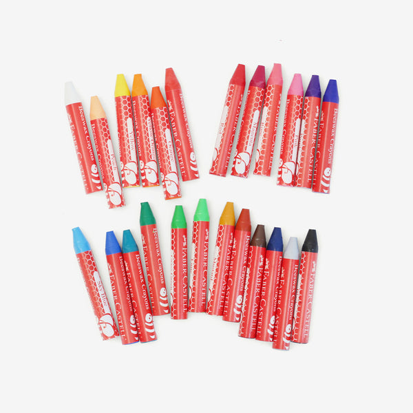 Beeswax Crayons - 24 count