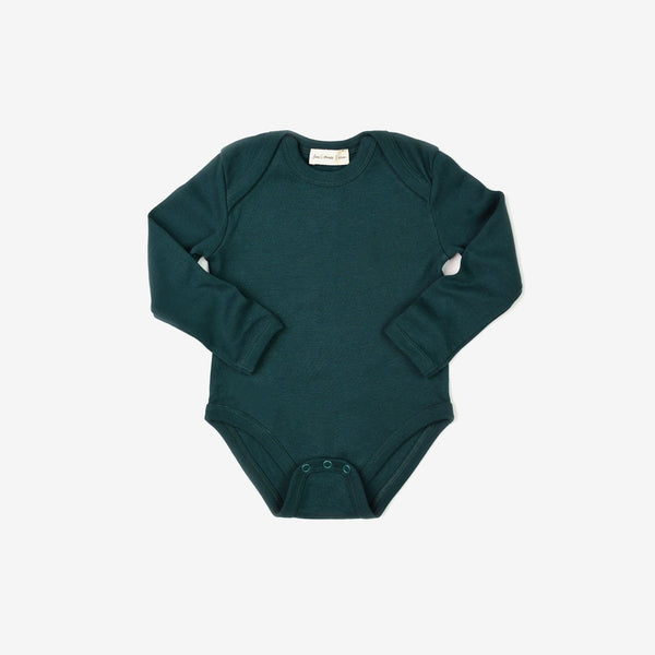 Essential L/S Onesie - Forest