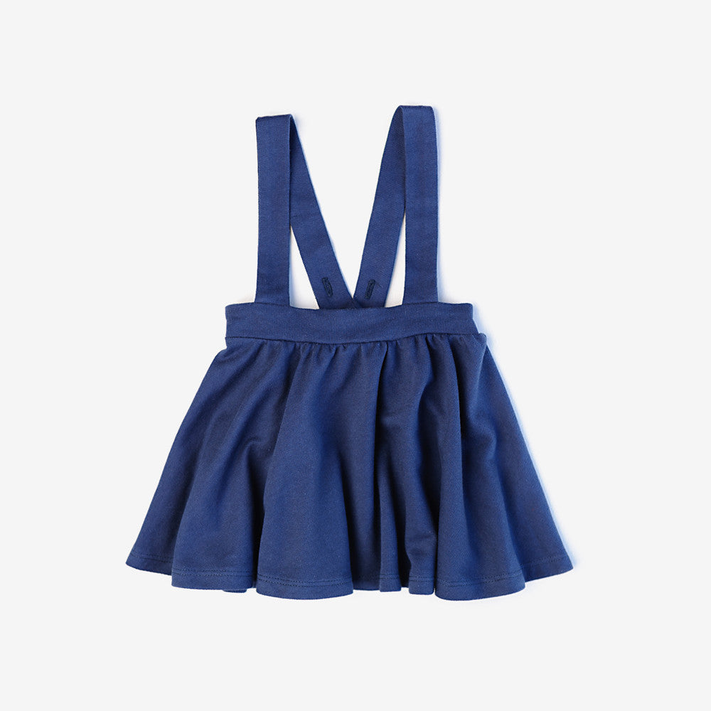 Navy School Skirt