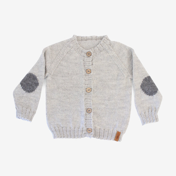 Emilia Cardigan - Light Grey
