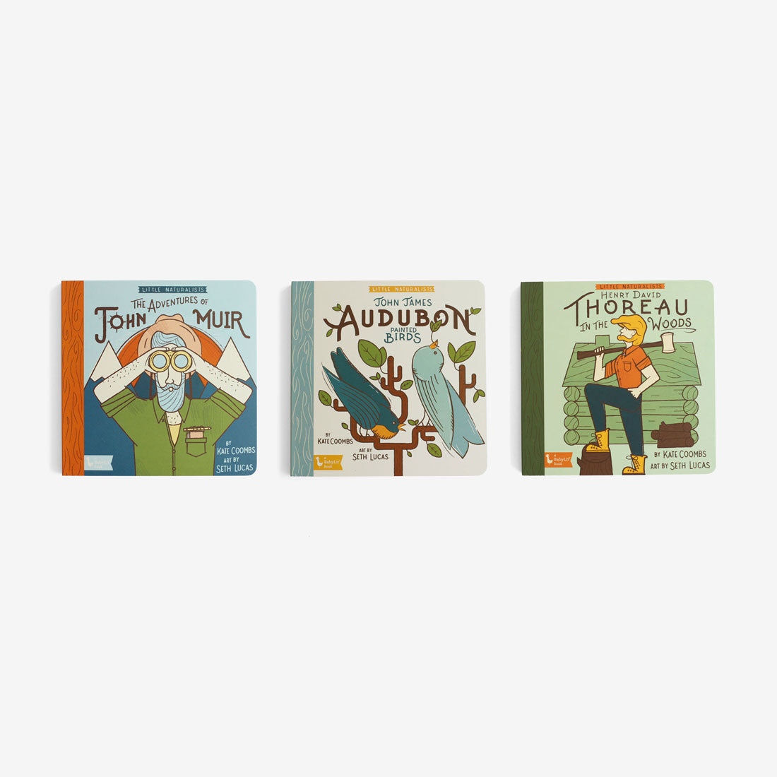 Little Naturalists Board Books Set of 3