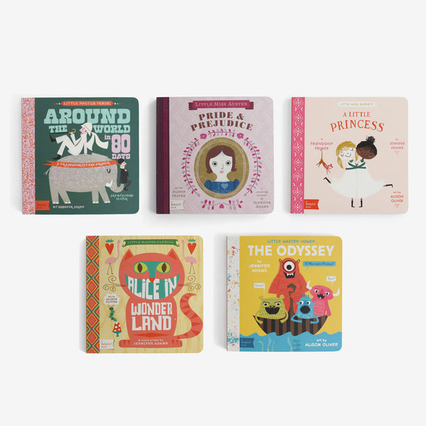 BabyLit Board Book Collection - Set A