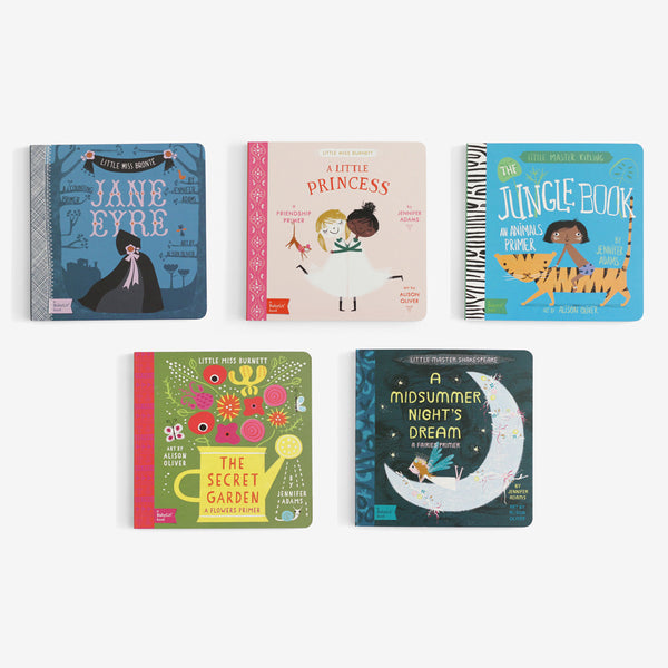 BabyLit Board Book Collection Set of 5