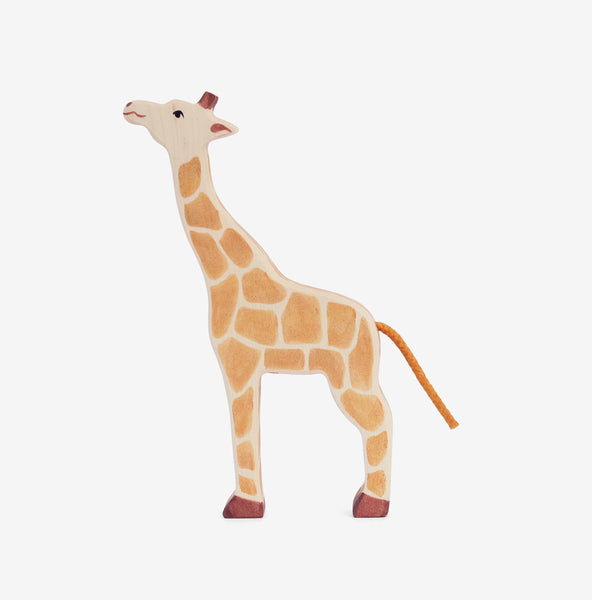 Action Figures Holztiger Giraffe Wooden Figure