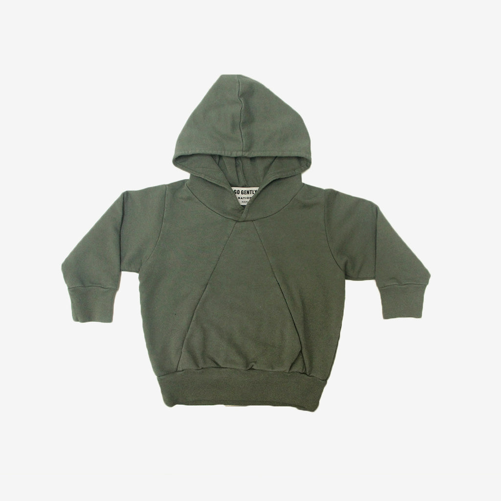 Double Pocket Organic Terry Hoodie
