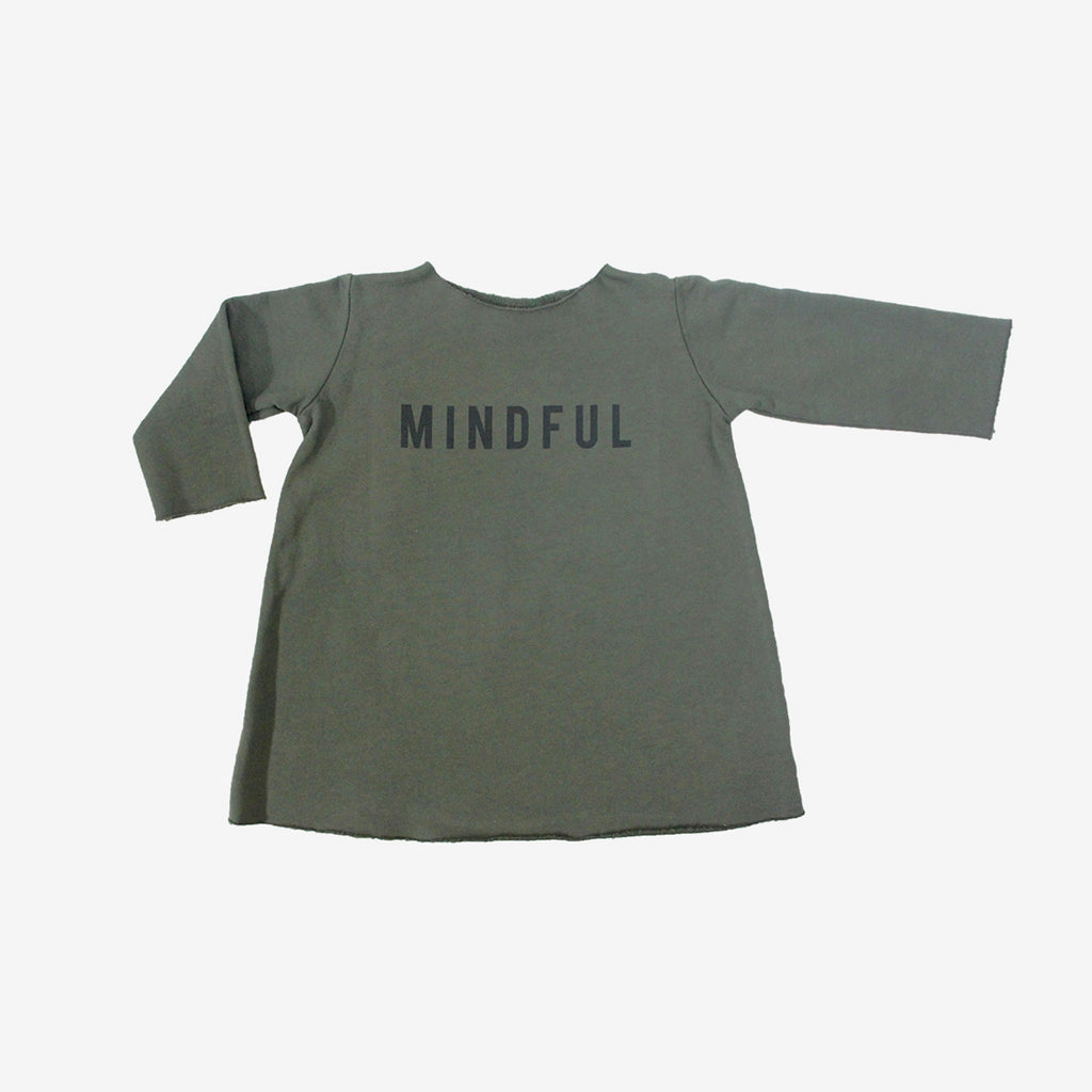 Mindful Organic Fleece Dress