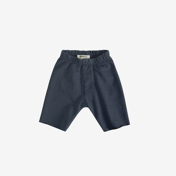 Organic Stretch Trouser Short - Indigo