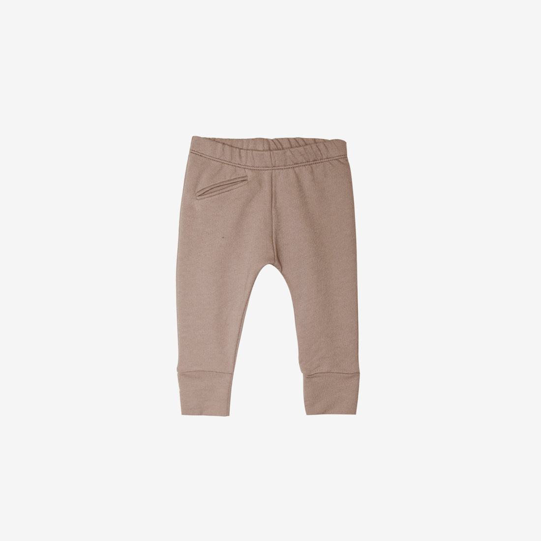 Organic French Terry Jogger - Mushroom