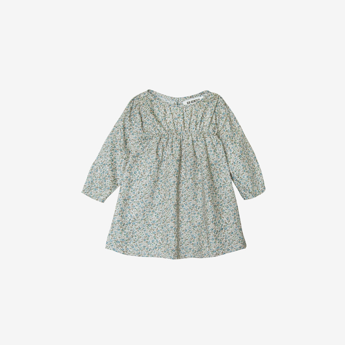 Organic Cotton Little Woven Dress - Floral