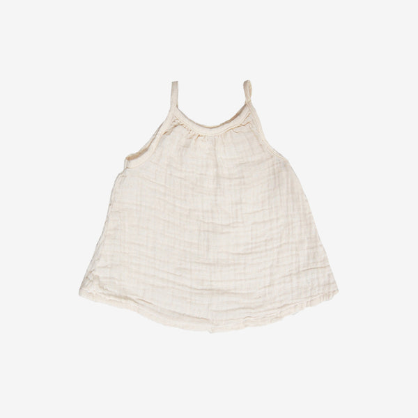 Perfect Summer Gauze Tank - Natural