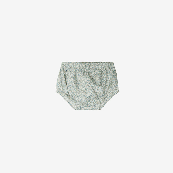 Organic Broadcloth Bloomer Short - Floral