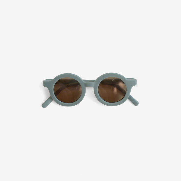 Kid's Recycled Plastic Sunglasses - Light Blue