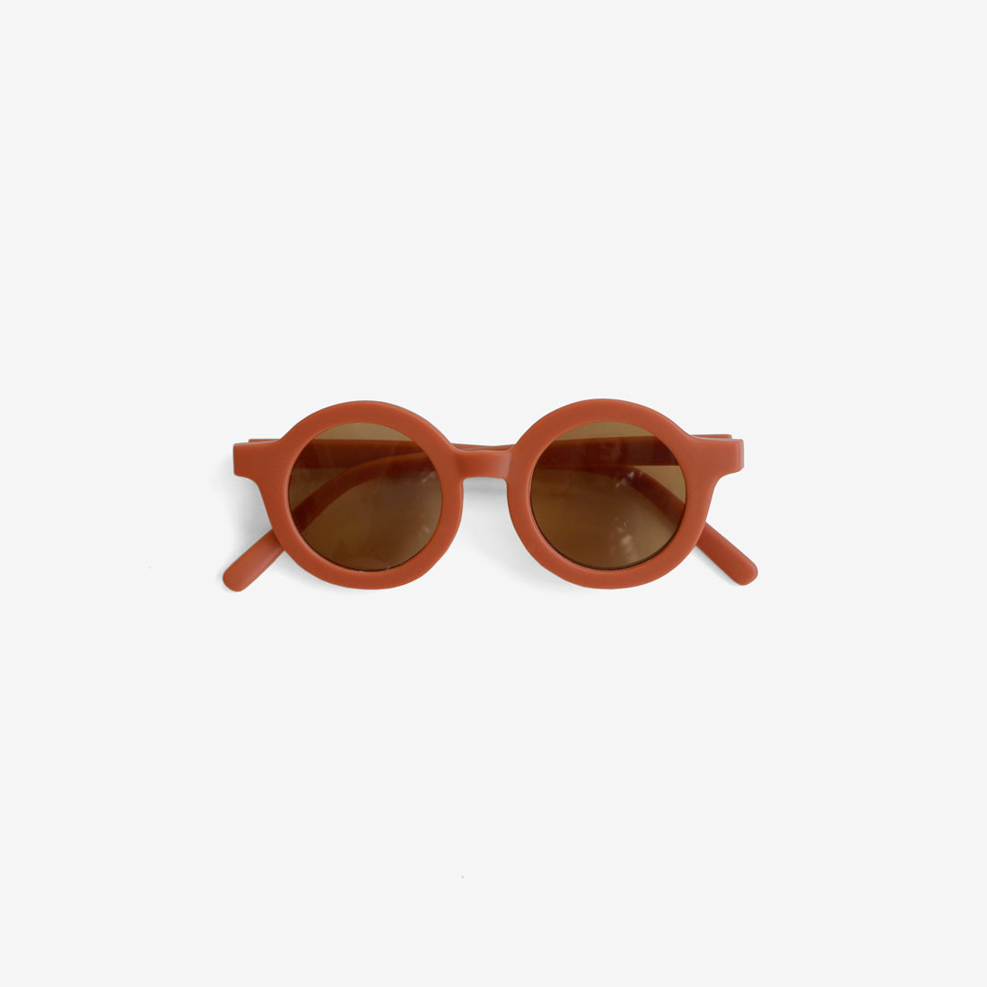 Kid's Recycled Plastic Sunglasses - Rust