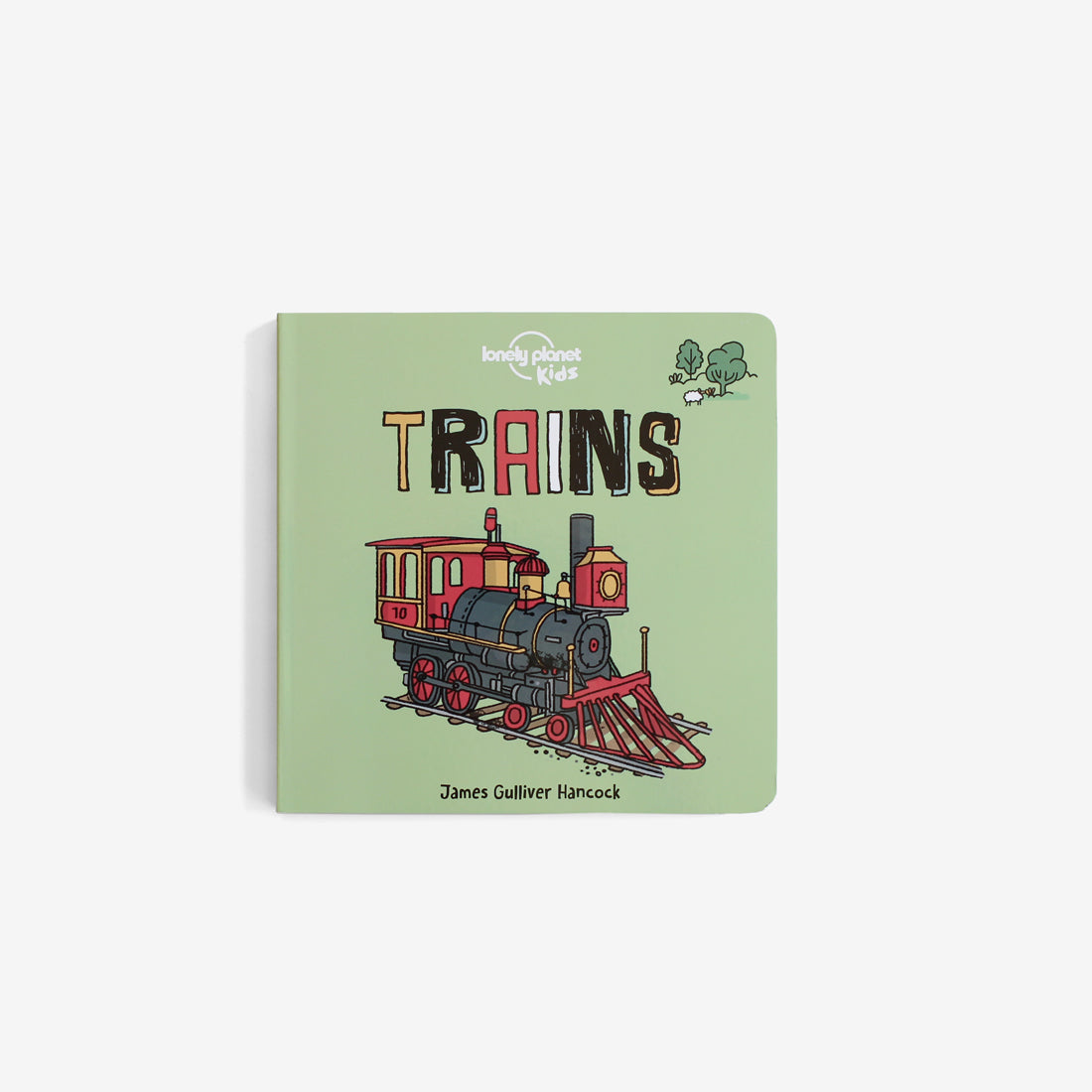 Lonely Planet Board Book - Trains