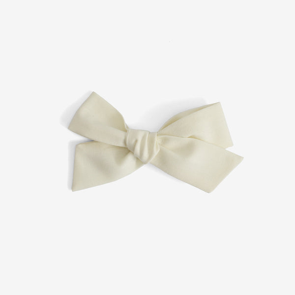 Little Mess Hair Bow - Vanilla