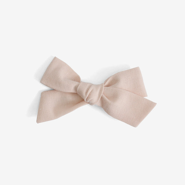 Little Mess Hair Bow - Blush Organic