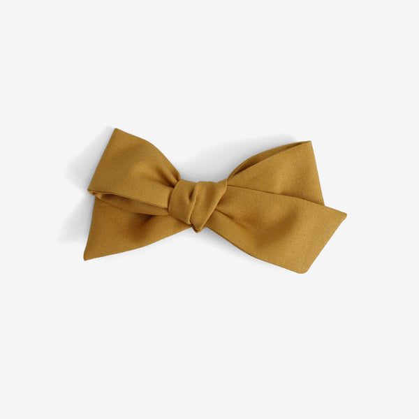 Little Mess Hair Bow - Mustard