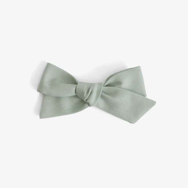 Little Mess Hair Bow - Seafoam