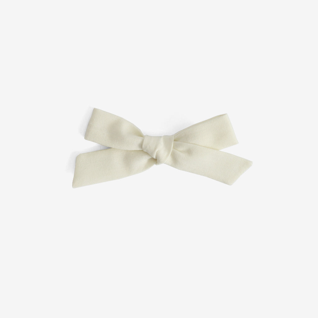 School Girl Hair Bow - Rylee & Cru Vanilla