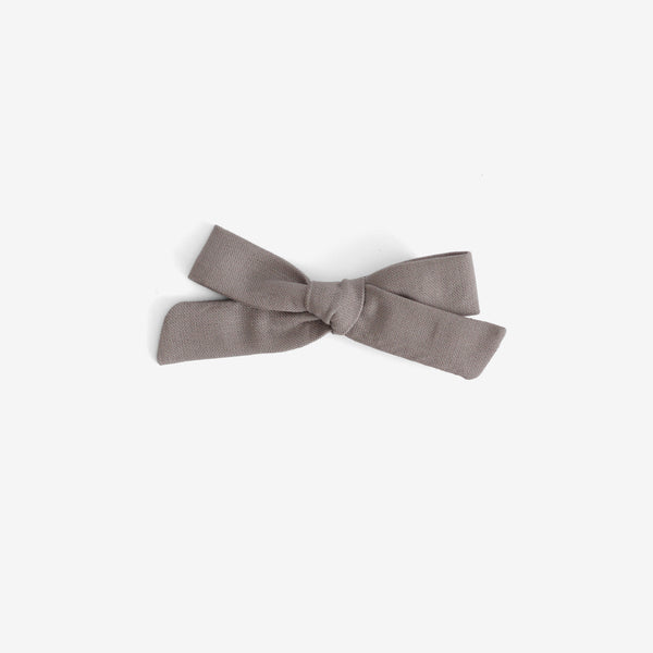 School Girl Hair Bow - Rylee & Cru Slate