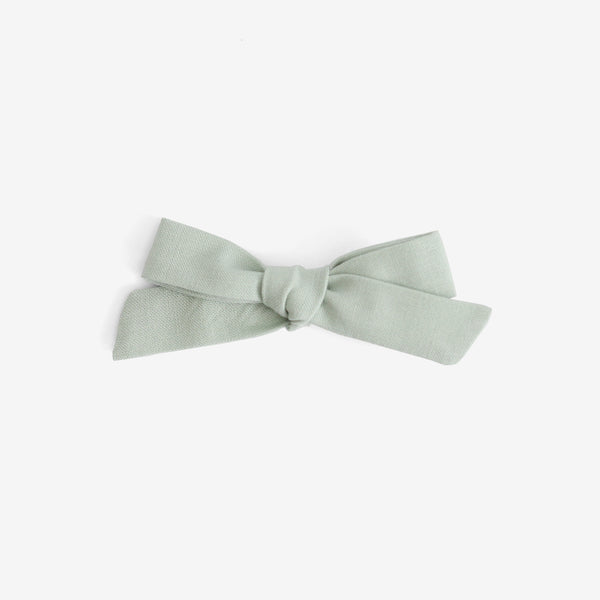 School Girl Hair Bow - Seafoam