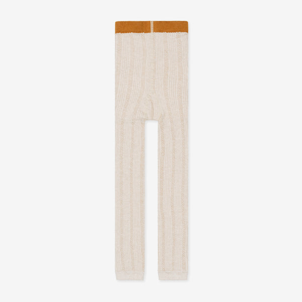 Nico Nico Riser Cable Organic Legging - Cream