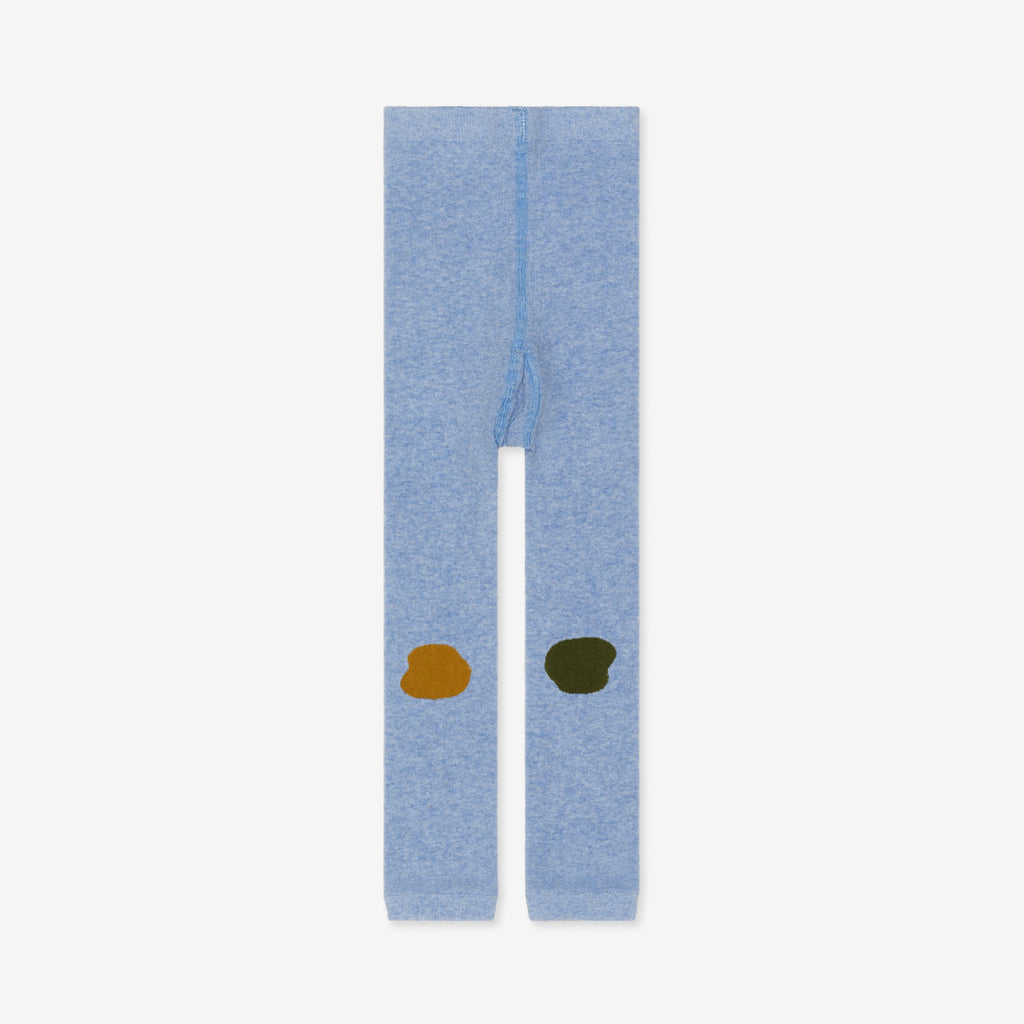 Mini Splatter Organic Legging - Blue