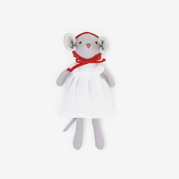 Catalina Mouse in Red Bonnet