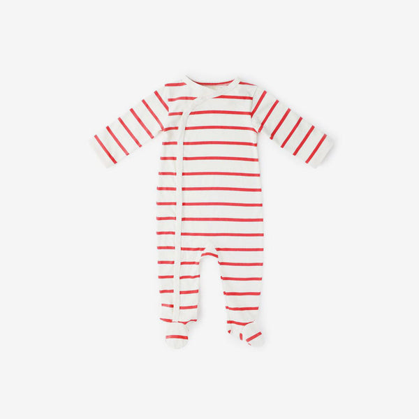 Cozy Lodge Organic Pima Footie Romper