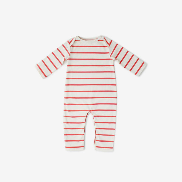 Cozy Lodge Organic Pima Romper