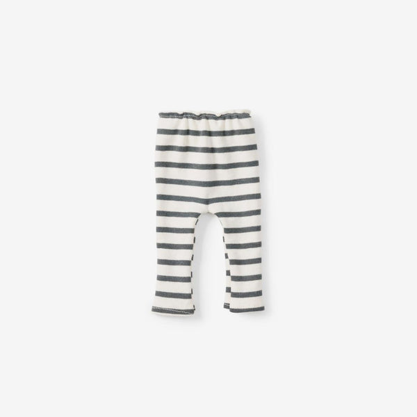 Dolly Leggings - Graphite Stripe