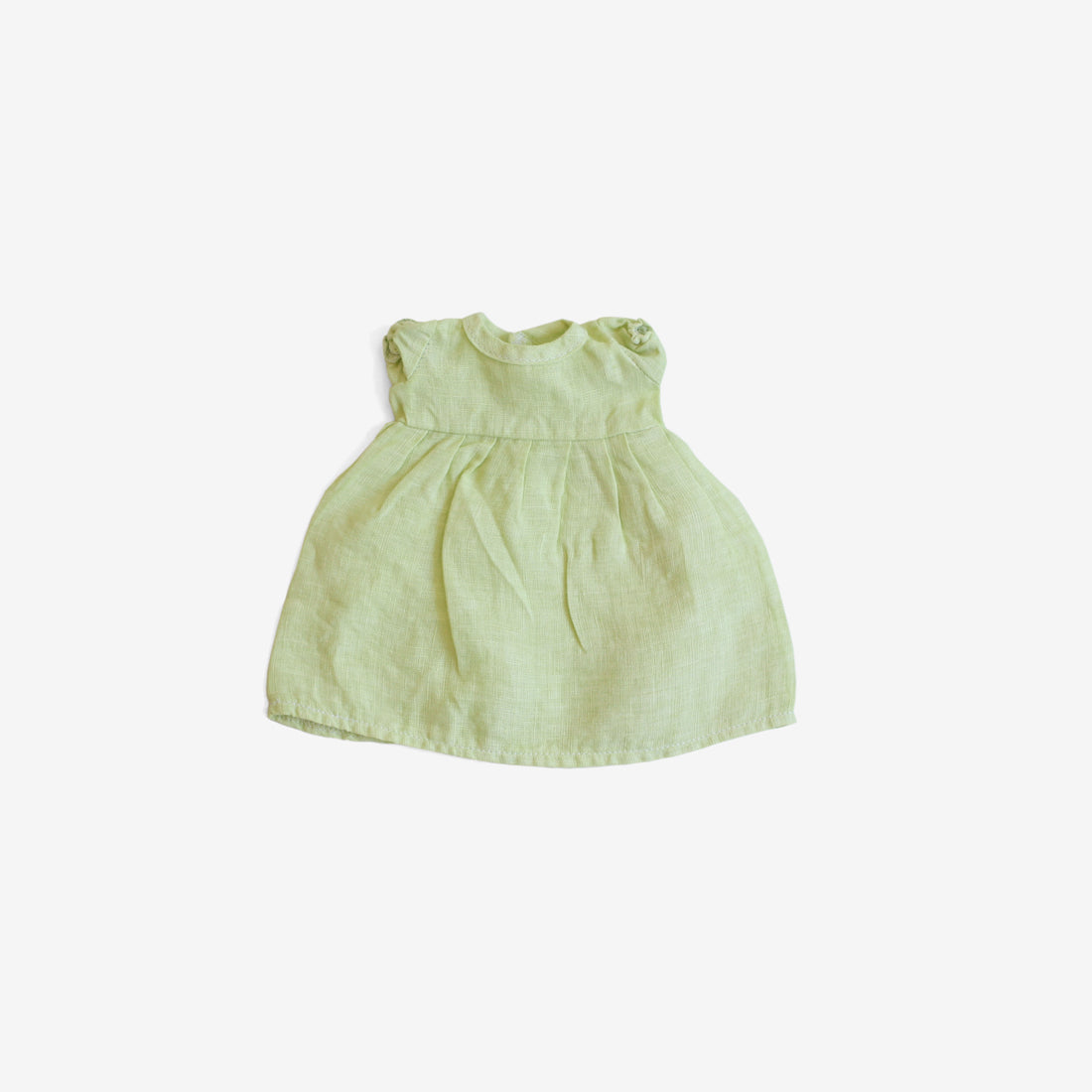 Linen Dolly Dress - Honeydew