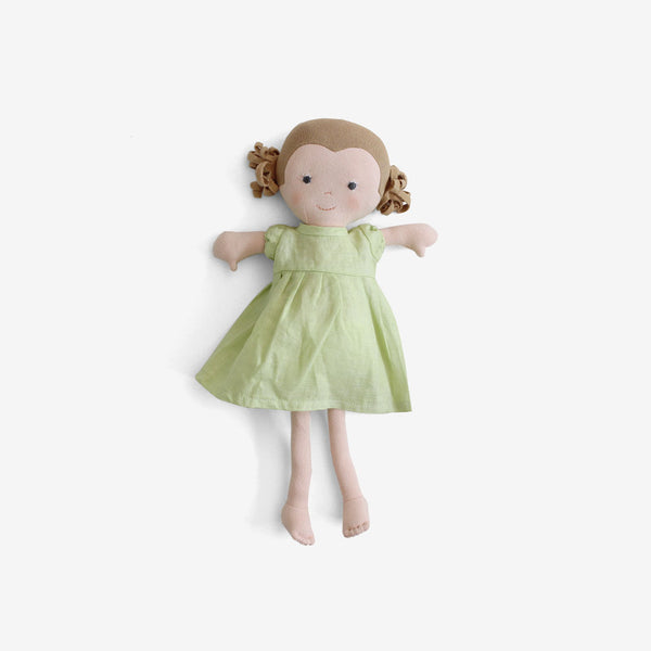 Fern Dolly in Honeydew Linen Dress