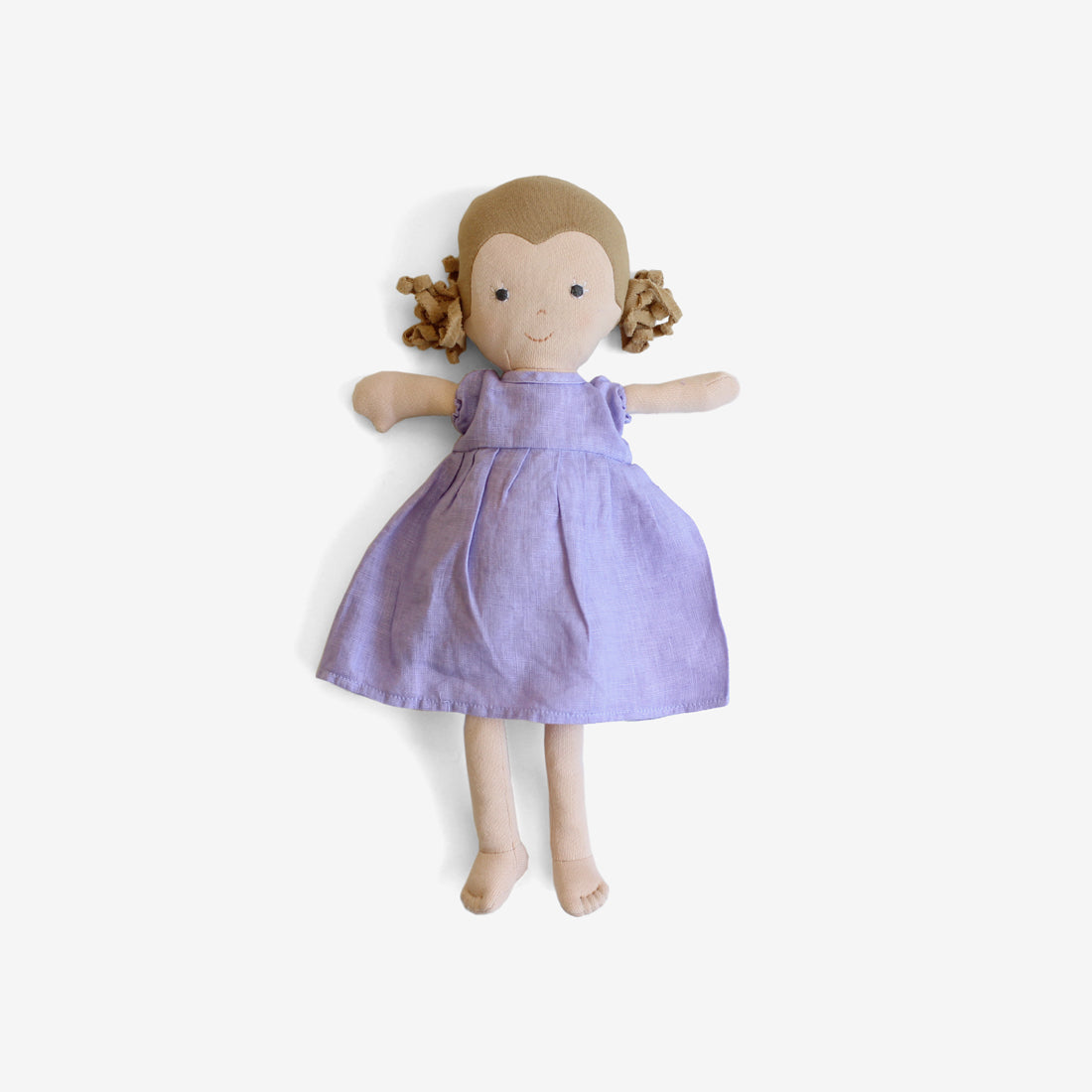 Fern Dolly in Wisteria Linen Dress