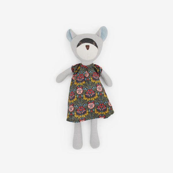 Gwendolyn Raccoon in Persephone Dress