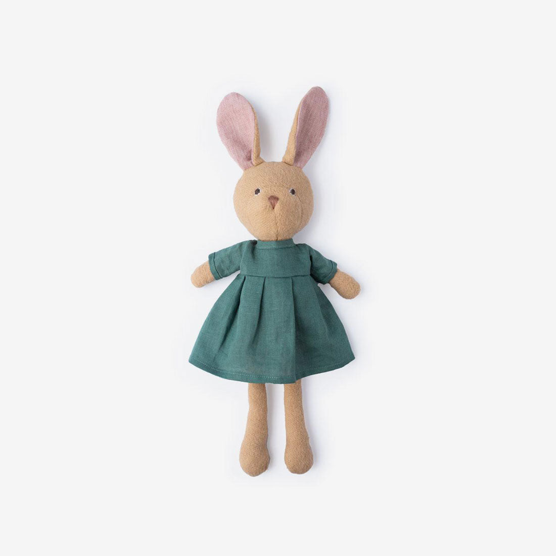 Juliette Rabbit in River Green Linen