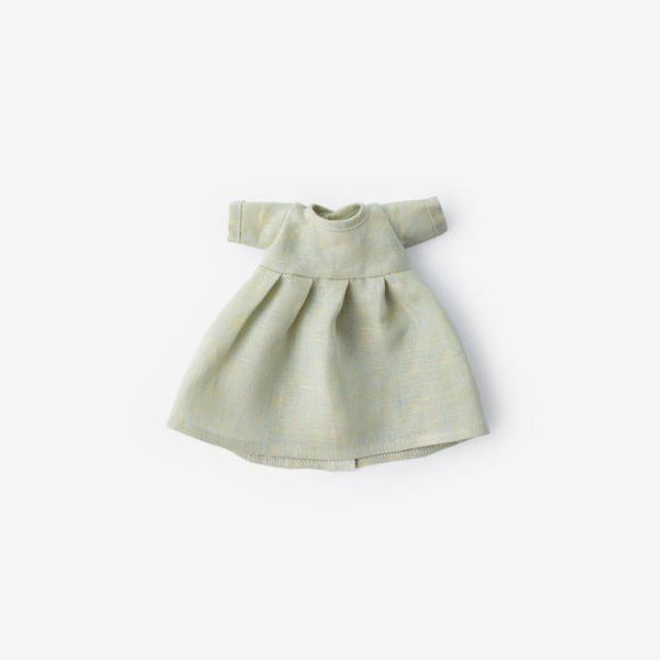 Linen Dolly Dress - Dewdrop