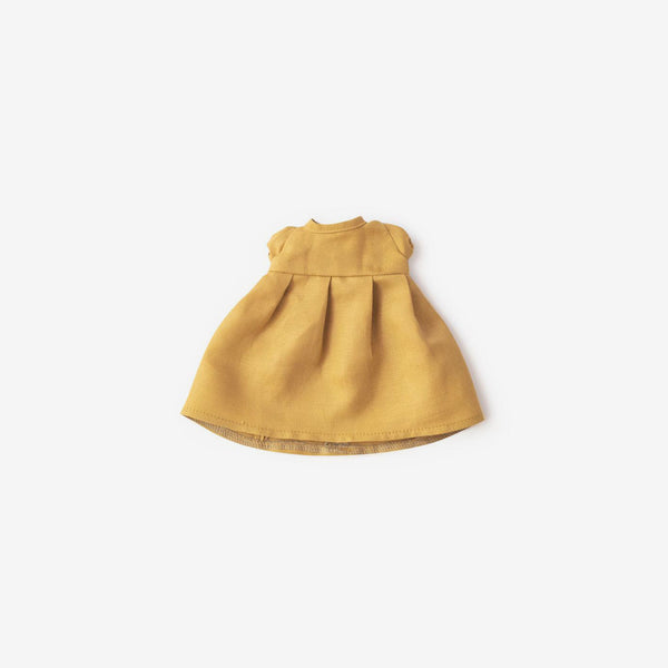 Linen Dolly Dress - Honey