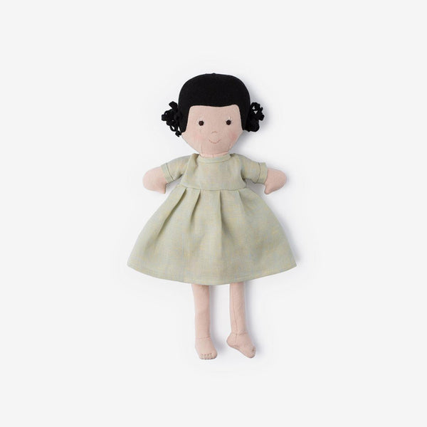 Nell Dolly in Dewdrop Linen Dress