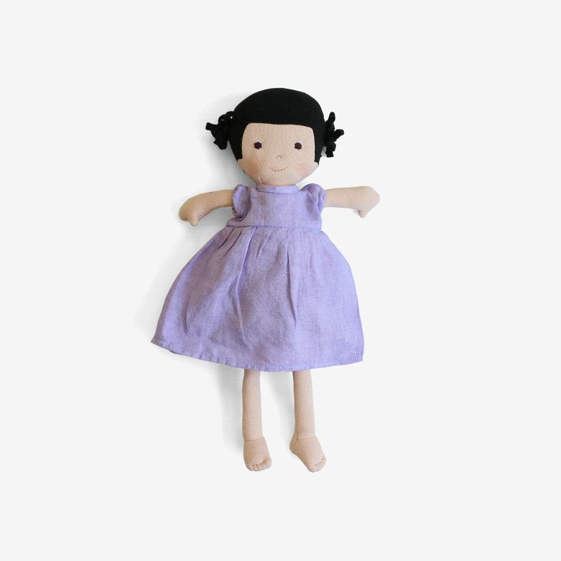 Nell Dolly in Wisteria Linen Dress