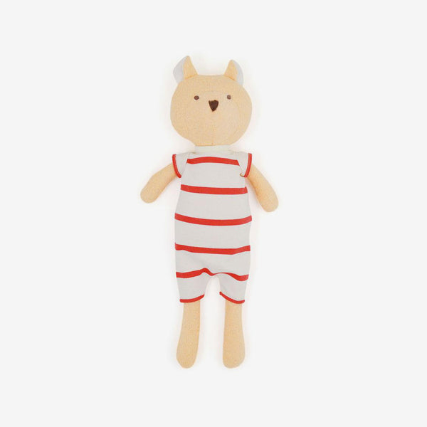 Nicholas Bear in Cozy Lodge Romper