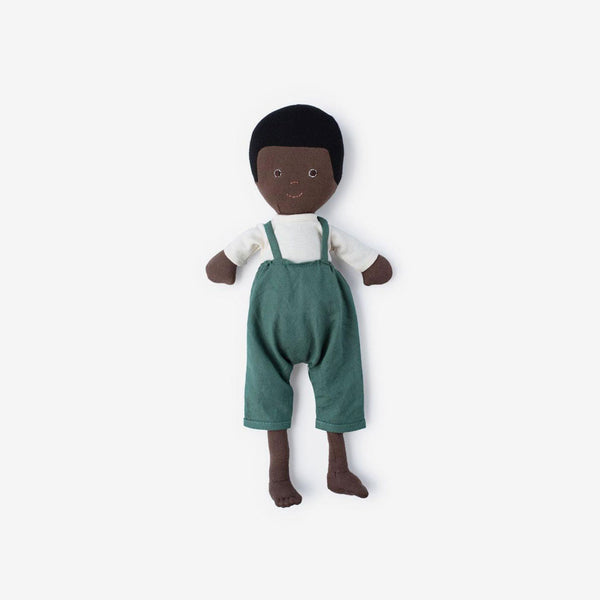 William Dolly in River Green Overalls