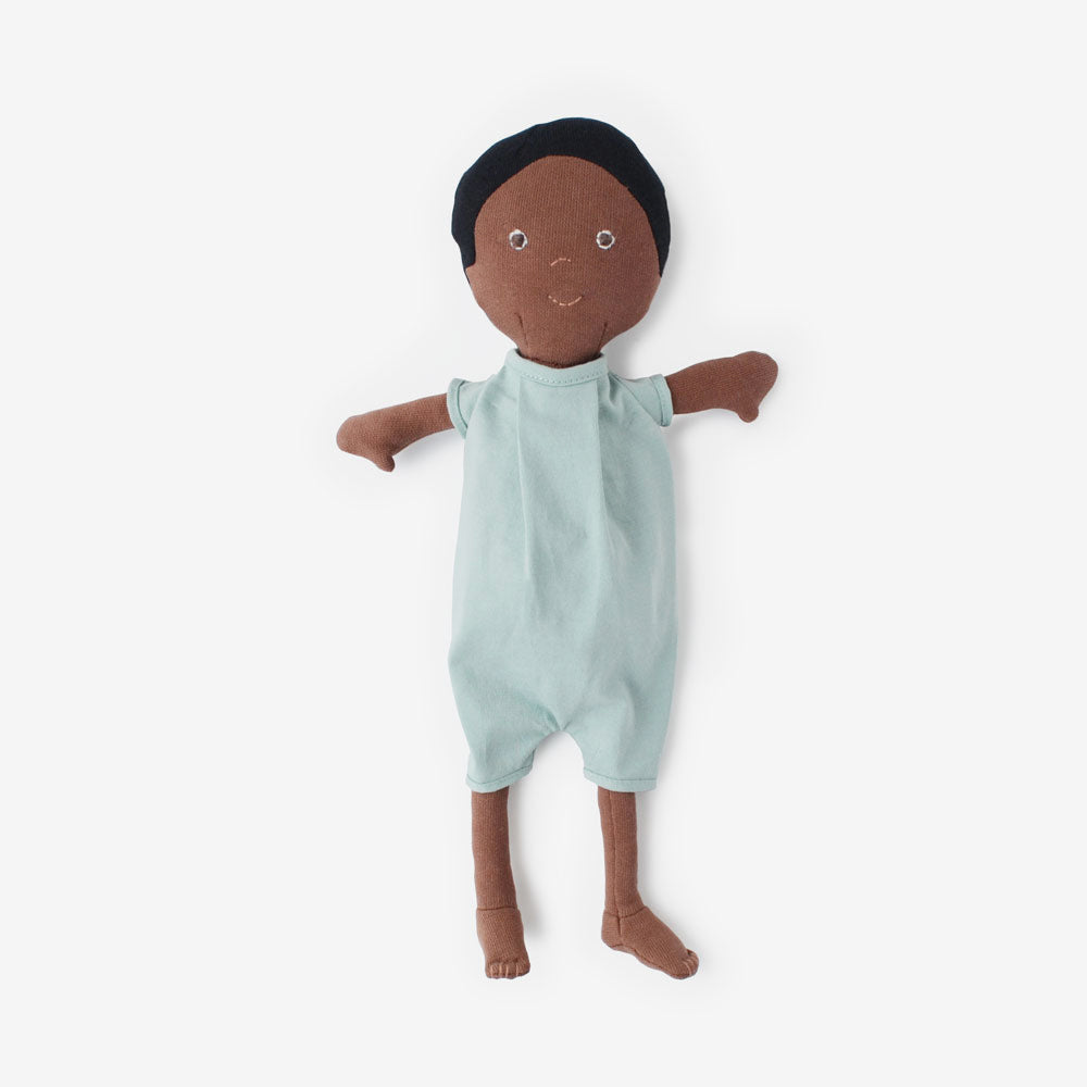 William Dolly in Egg Blue Romper