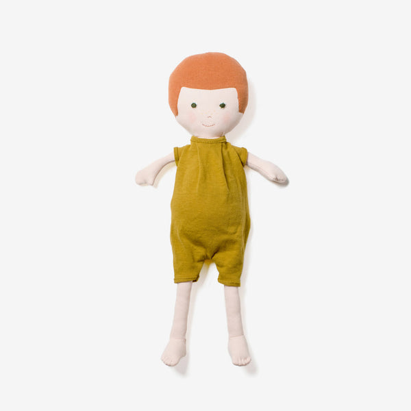 Charlie Doll in Bracken Romper