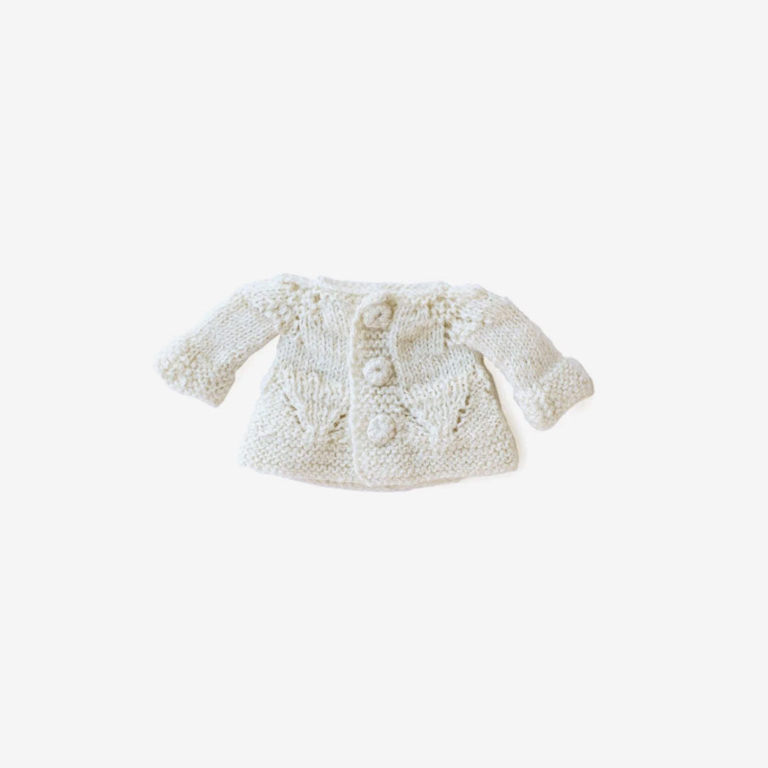 Dolly Sweater - Ivory Cardi