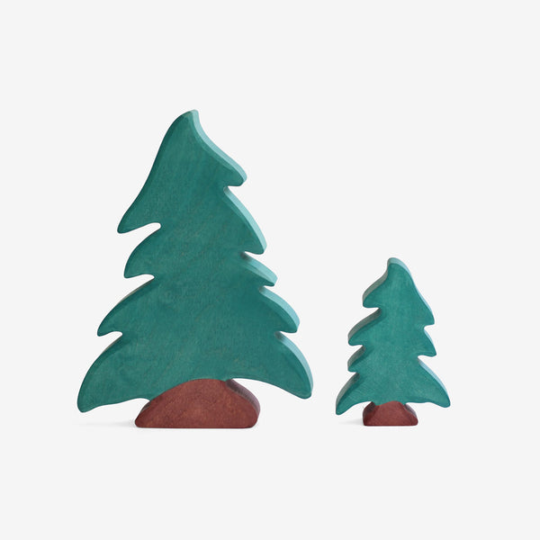 Holztiger Evergreen Trees Play Set