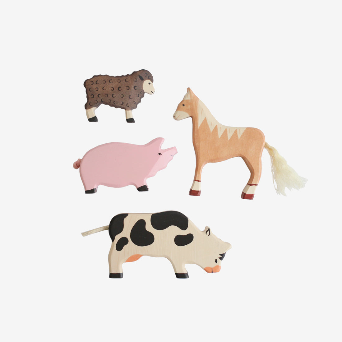 Holztiger Farm Animals Play Set
