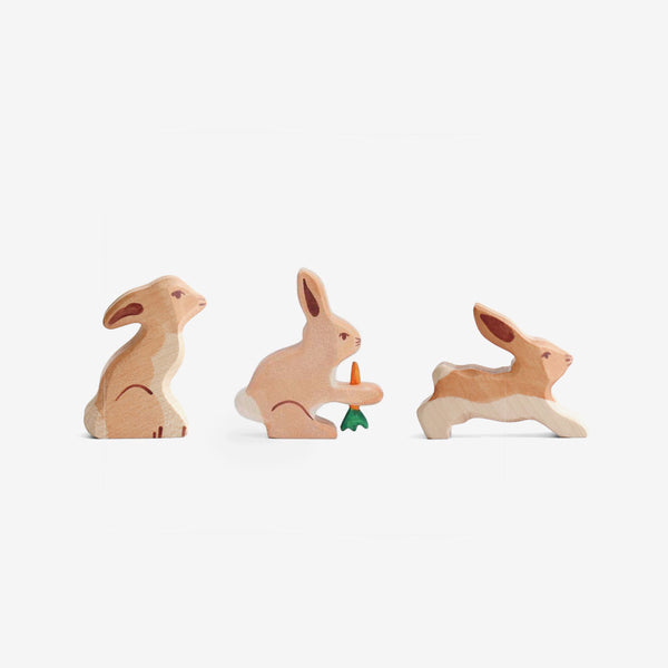 Holztiger Bunnies Play Set
